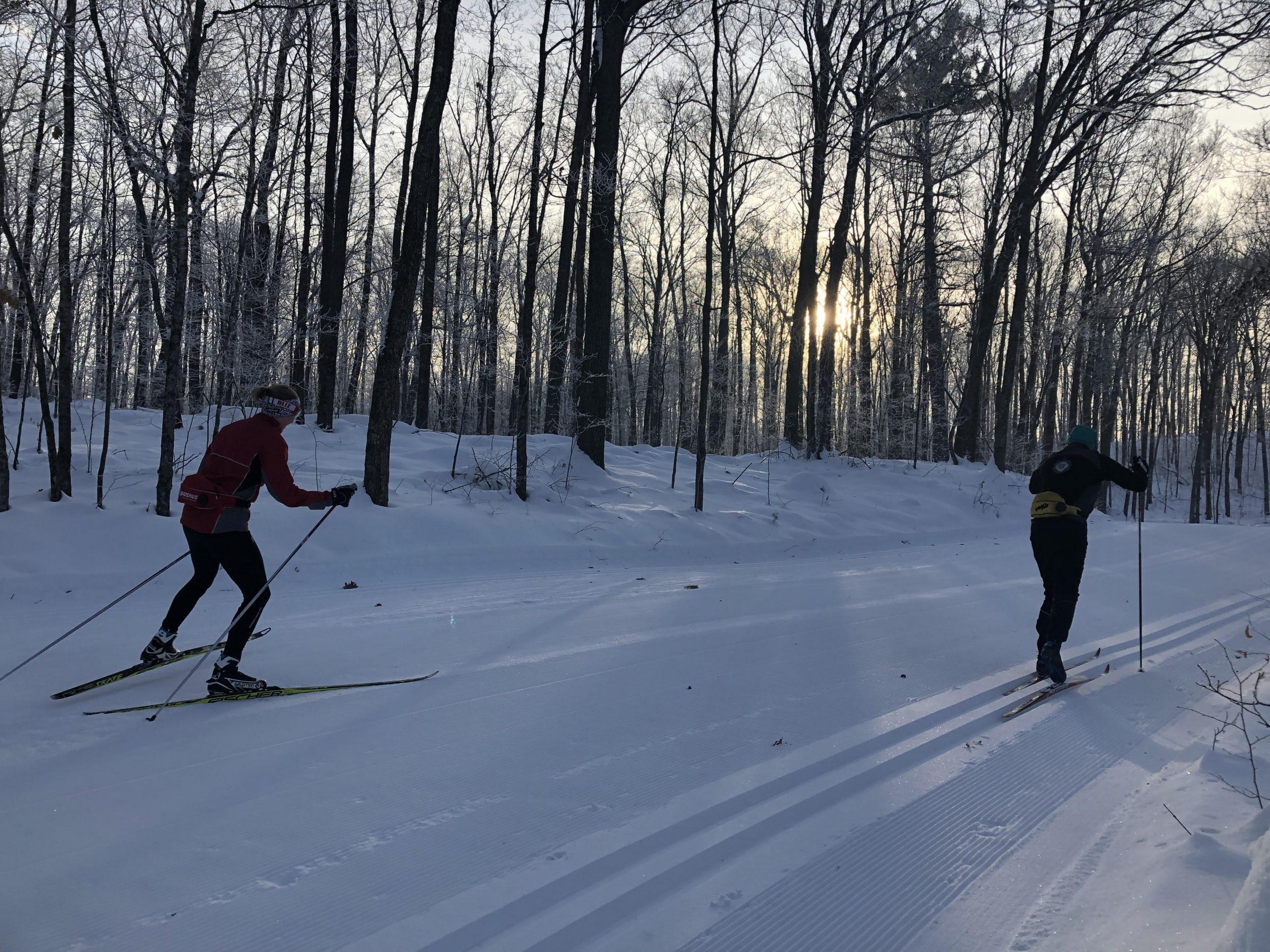 Birkie Trail Skiers